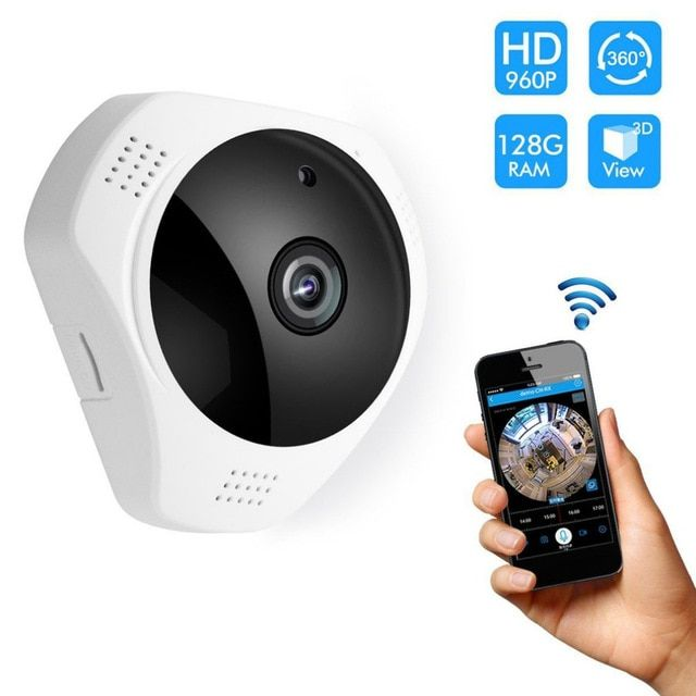 812g S 360 Degree Panoramic Wireless Ip Camera Motion Detection Night Vision Indoor Outdoor Security System For Baby Pet Elder Review Wireless Ip Camera Ip Camera Camera Surveillance System