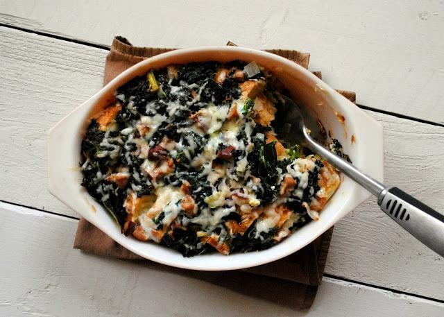 ... sausages einstein food ideas forward kale chicken sausage strata kale