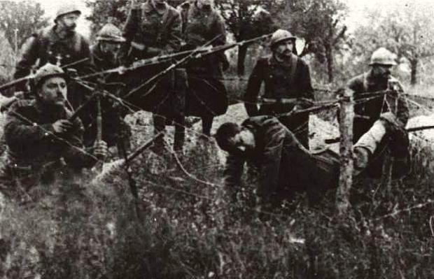 In Frankrijk is veel gevochten in Wereldoorlog 1.