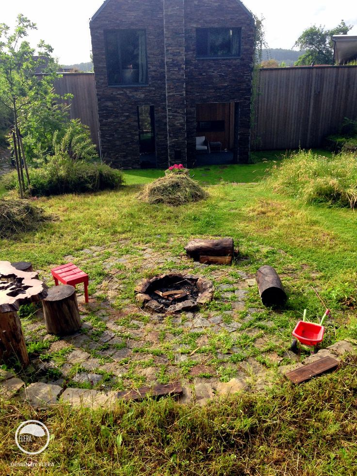#landcape #architecture #garden #natural #firepit #resting #place