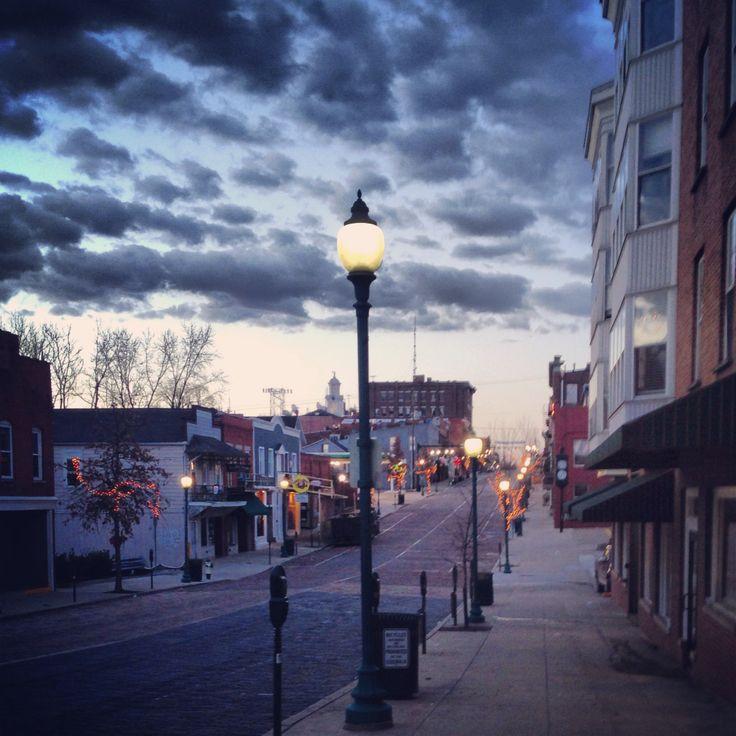 Court Street, Athens Ohio.