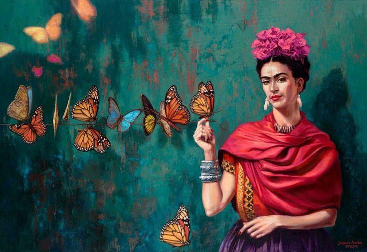 cuadro frida kahlo - Buscar con Google