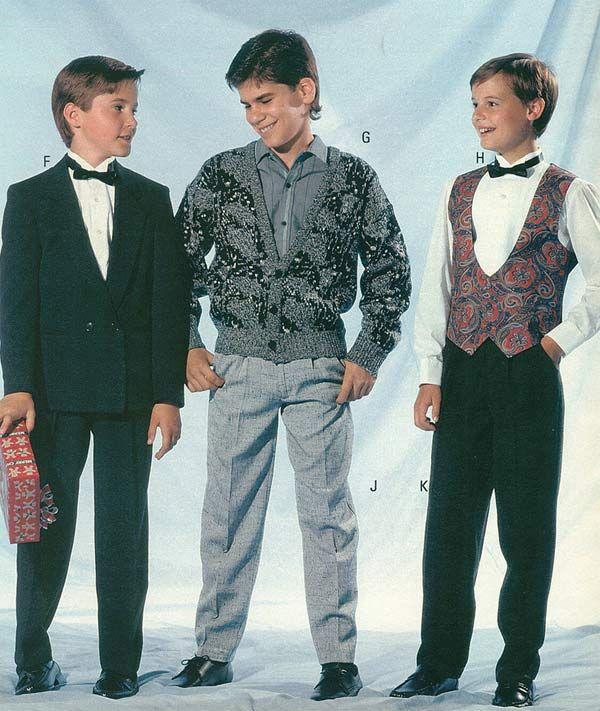 1980 fashion and men  ...