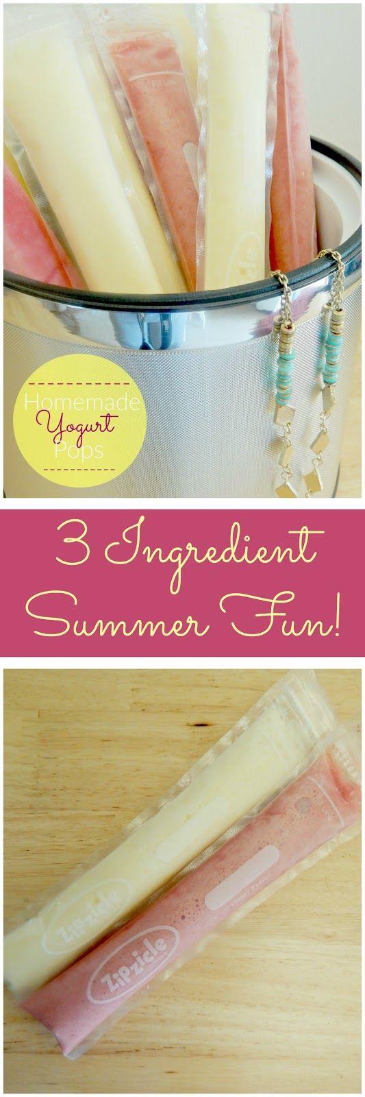 homemade yogurt pops (sweetandsavoryfood.com)