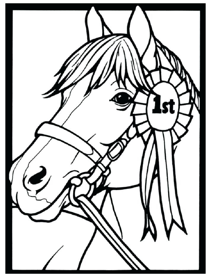 Horse Jumping Coloring Page Youngandtae Com Horse Coloring Pages Horse Coloring Horse Coloring Books