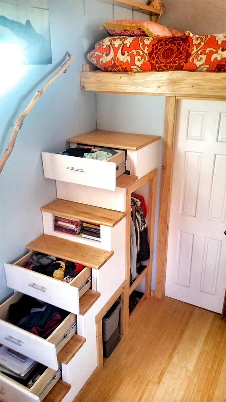 10 Clever Small-Space Storage Ideas You Can Steal from the Tiny House Movement