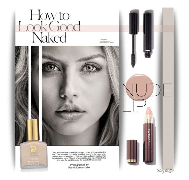 """""""How to look good naked - Nude Lip"""" by mcheffer ❤ liked on Polyvore featuring beauty, Industrie, Christian Louboutin, Chanel, Estée Lauder and nudelip"""