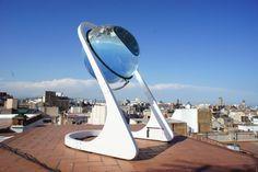 Energie: Deutscher erzeugt mit Glaskugel Strom aus Mondlicht – Tim Mandelartz