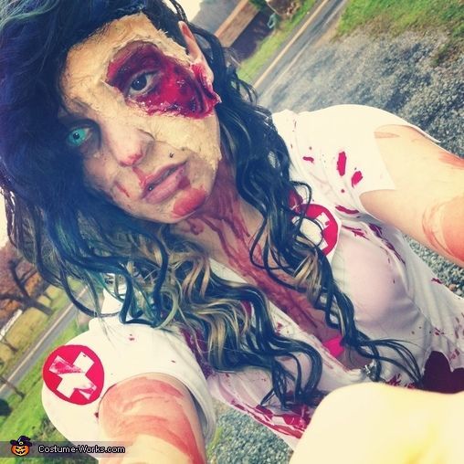 Zombie Nurse - 2013 Halloween Costume Contest via @costumeworks
