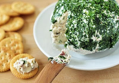 Parmesan-Cream Cheese Ball...I wonder is this tastes like the Parmesan garlic cheese ball that was discontinued from Tastefully Simple...oh my I hope so!!!!