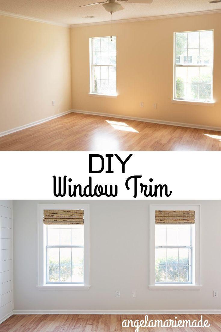 Diy Window Trim Diy Window Trim Interior Window Trim Home
