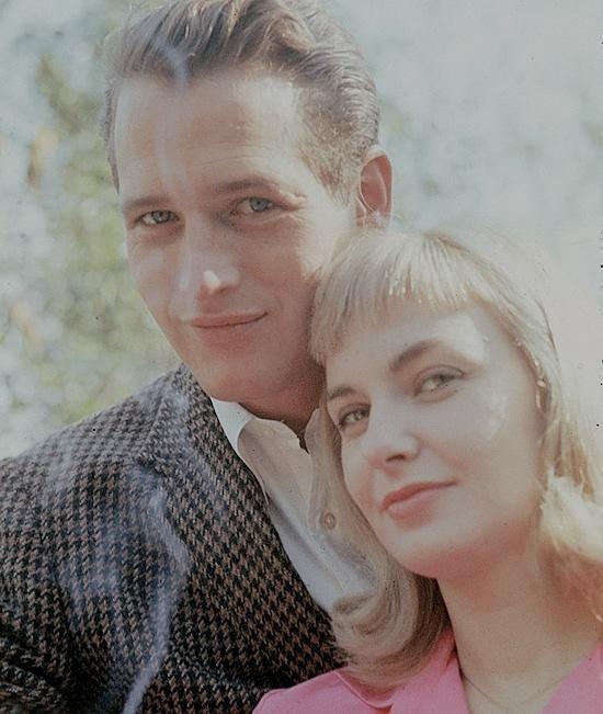 ジョアン・ウッドワードとおしどり夫婦と呼ばれるポール・ニューマン