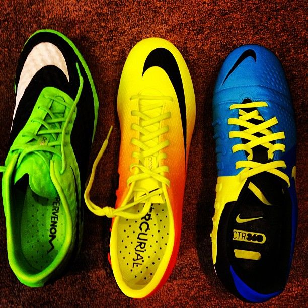 Decisions     Nike  CTR360  Mercurial  Hypervenom  CAN I HAVE THEM NOW