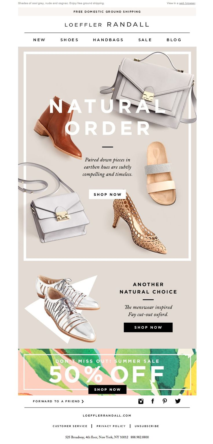 #newsletter Loeffler Randall 06.2014 Style These With Summer Whites