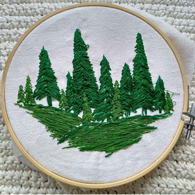 Haftowane inspiracje Forrest Embroidery https://www.facebook.com/oplotki/