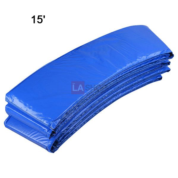 """Trampoline Pad Size Options: 12', 13', 14', 15'        Foam:  EPE, 10"""" or 12"""" Wide x 0.55""""Thick"""