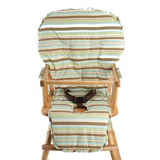 high chair covers for wooden high chairs | NoJo Reversible Water Resistant High Chair Cover - BabyGiftsOutlet.com