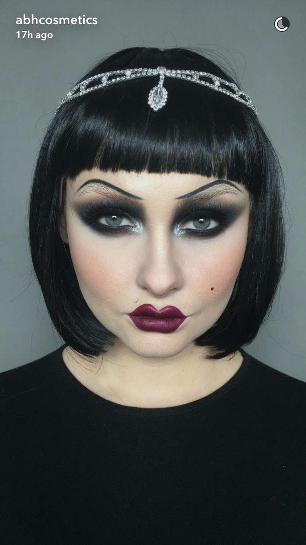 Flapper Dancer | Halloween makeup