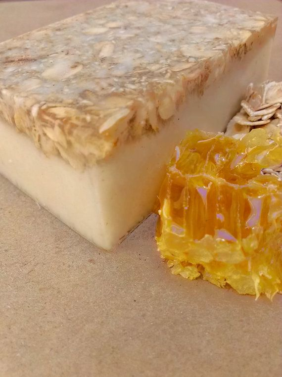 Oatmeal, Milk & Honey Soap made with Goats Milk and ...