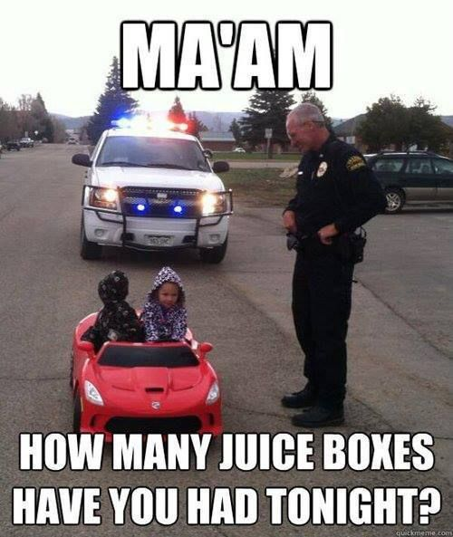 How many juice boxes have you had?