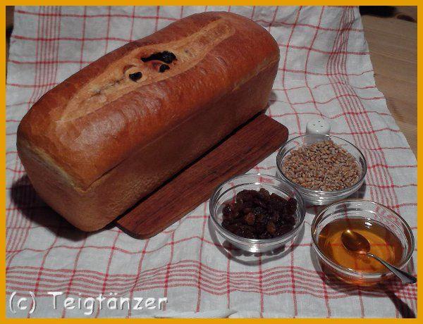 Bockradener Rosinenbrot gebacken von ''Der mit dem Teig tanzt''