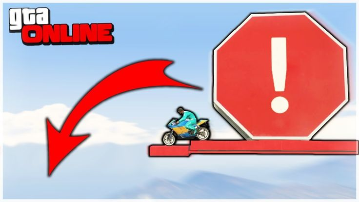 ИЗИ ИЛИ НЕТ?! ПРОХОДИМ СТРАННЫЙ МОТОПАРКУР В GTA 5 ONLINE!!!