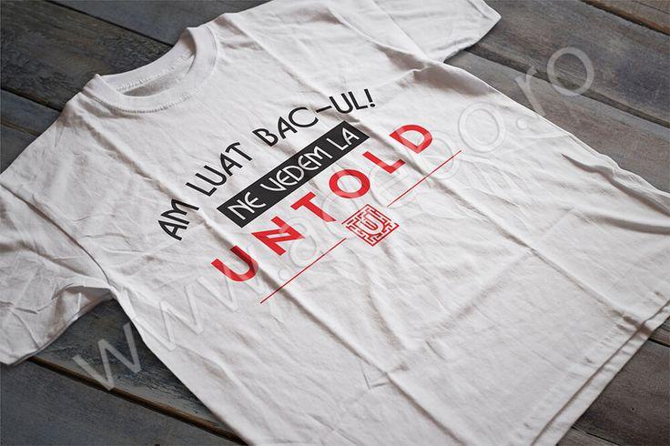 Mergi anul acesta la Cluj si ai nevoie de un tricou personalizat UNTOLD Festival, ai nevoie de un tricou cu care sa iesi in evidenta?