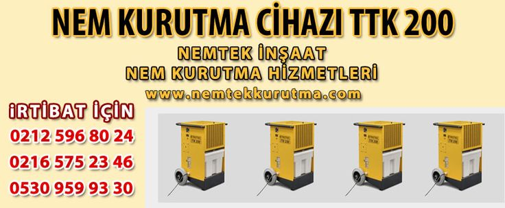Nem Kurutma Cihazı TTK 200   NEMTEK NEM KURUTMA 530 959 9330 http://www.nemtekkurutma.com/pagedetails/52/nem-kurutma-cihazi-ttk-200/
