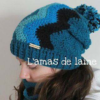 CROCHET PATTERN Everest slouchy hat - Easy to make, easy to customize. And it even has a matching scarf that you can crochet to go with it.