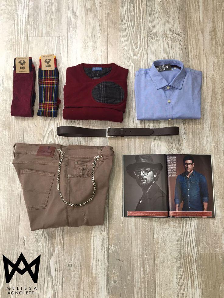 Pantaloni, camicie, maglie e tanto altro ancora! Scopri tutti i nuovi arrivi da Uomo sul nostro Shop on-line oppure vieni a provarli presso i nostri Concept Store!
