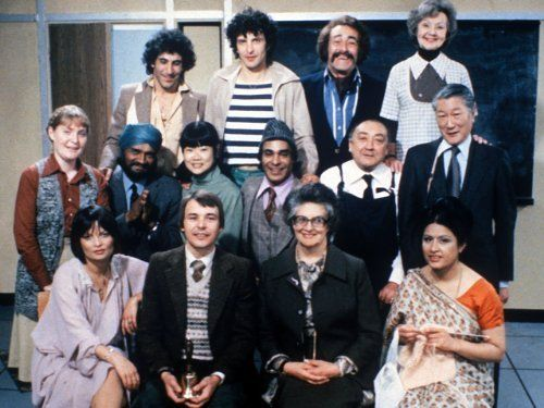 Mind Your Language.. I always pop this in my DVD when I need a good laugh..