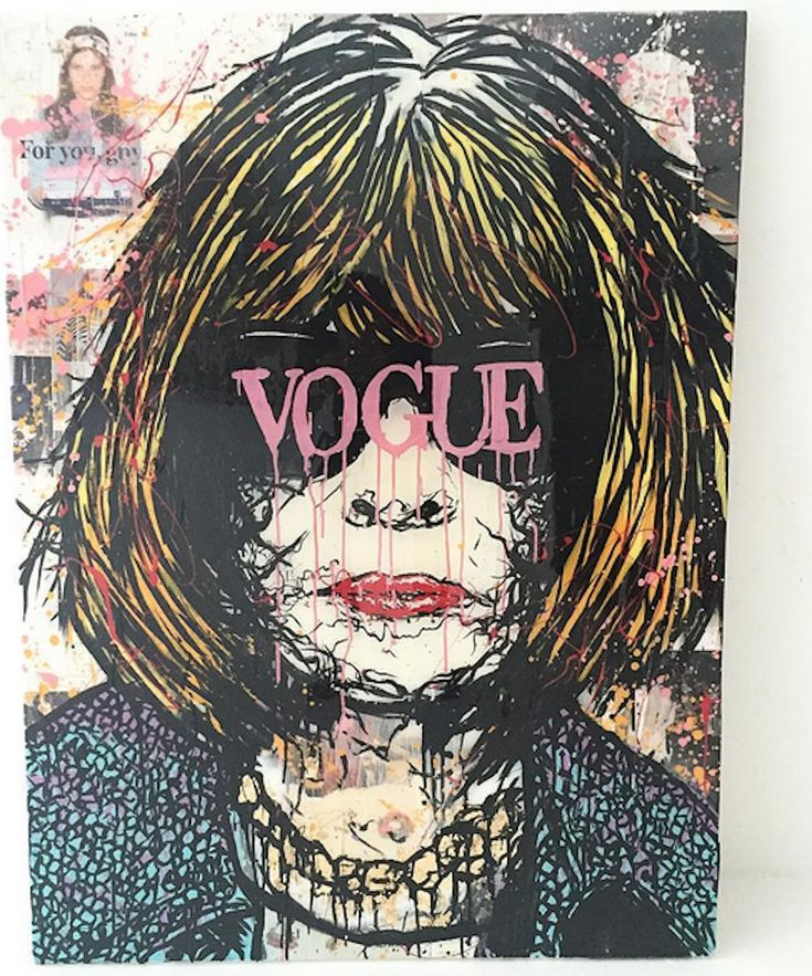 Anna Vogue by Alec Monopoly . Alec Monopoly is a world renowned graffiti artist. His depiction of the hilariouly spoiled cartoon character Scrooge.