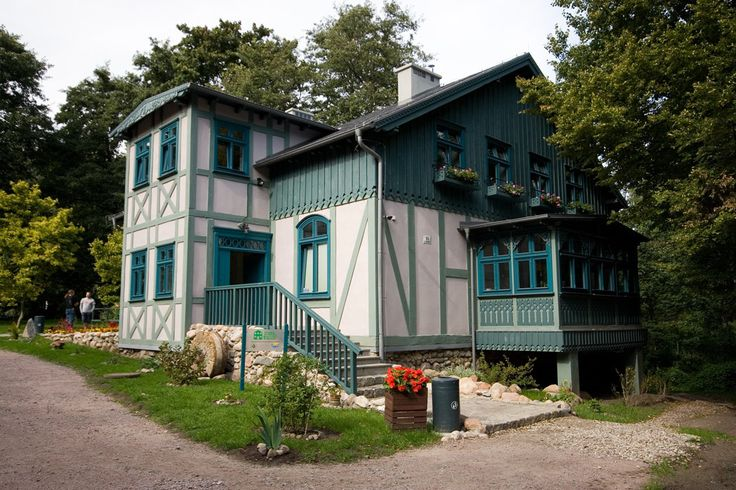 Drewniana willa w Sopocie.