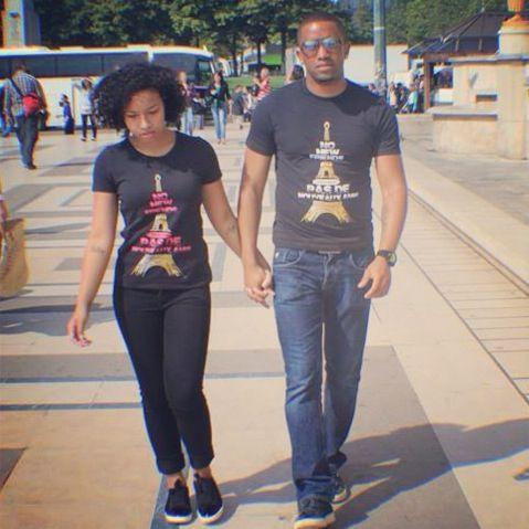 Paris with wifey