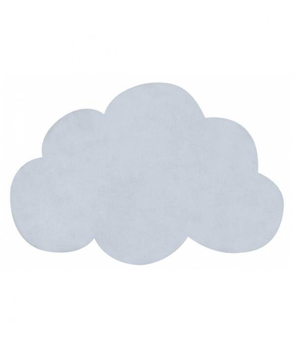 vloerkleed wolk licht blauw - Mevrouw Aardbei