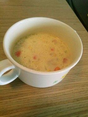 ツナ豆乳スープ(離乳食完了期にも) by 夕楊月 [クックパッド] 簡単 ...