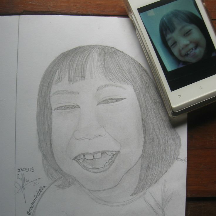 My lil sister. Created by: Me :DD