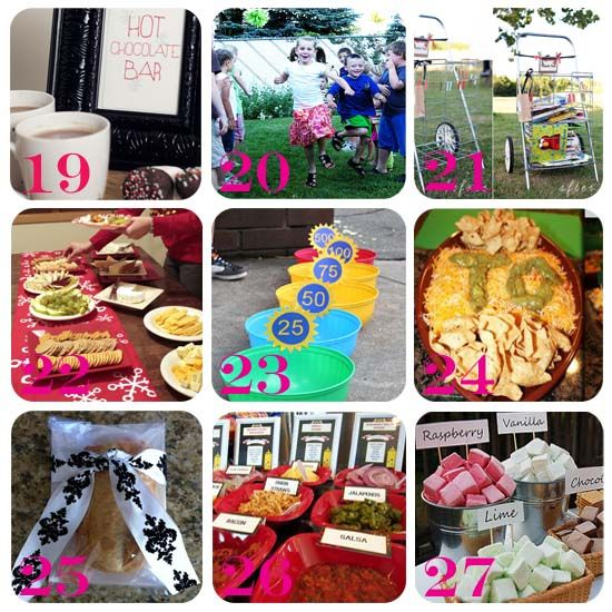 30 Block Party Ideas - perfect ideas for our annual Labor Day block party. Bring on the food, fun and games!