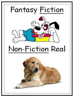 Fiction vs. Nonfiction - Free Literacy Posters