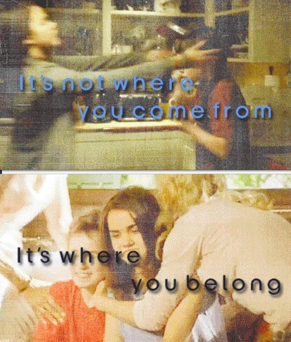 The Fosters! It's not where you come from it's where you belong. #TheFostersBingeandWinSweepsEntry