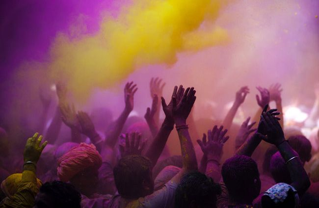 holi, the hindu festival of colour. celebrated in india, nepal, sri lanka and several other countries.
