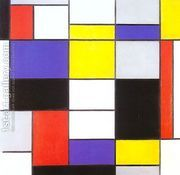 Composition A  by Piet Cornelis Mondrian