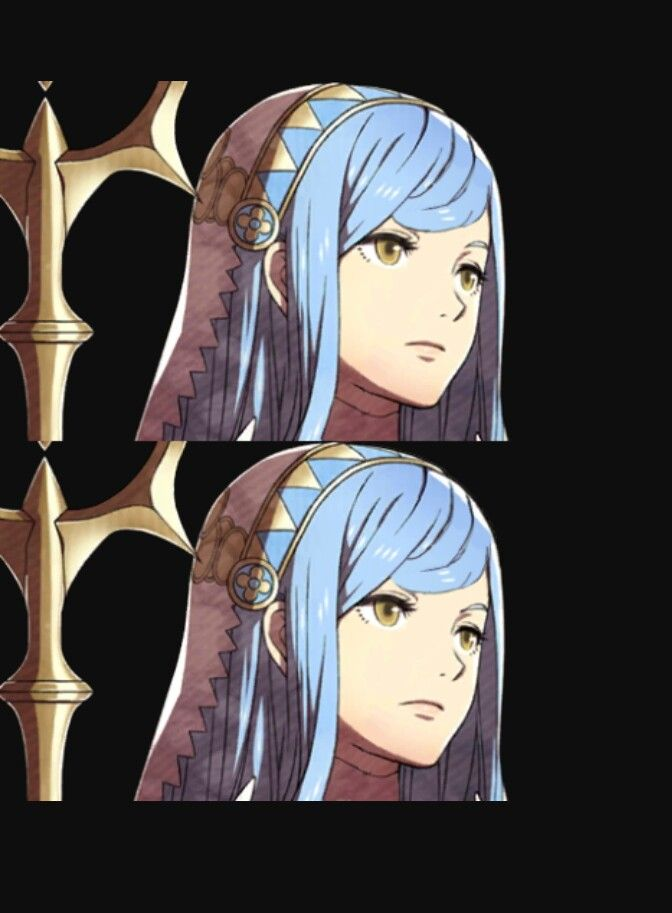 This picture made me so confused,  something was so different yet it took me a few minutes to find out what it was.  | Fire Emblem fates | Azura| Conquest,  Birthright, and Revelation |