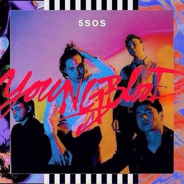 Youngblood Is 1 Year Old Hbd Cool Album Covers 5 Seconds Of Summer Music Album Cover