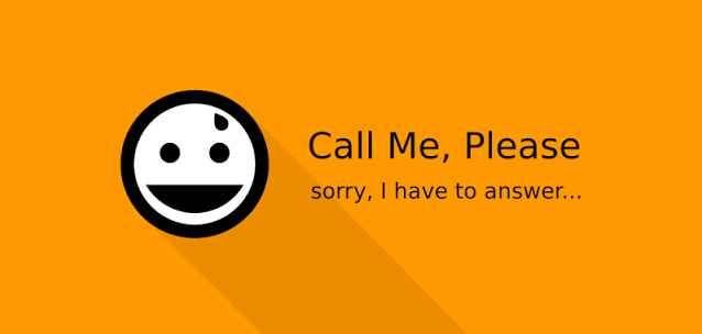 """Call Me, Please – l'app per Android che simula le chiamate telefoniche! Ecco un applicazione davvero utile (e originale) che vi permetterà di """"togliervi"""" da situazioni scomode.  Con """"Call Me, Please"""" per Android potrete infatti ricevere una chiamata simulata ????  Grazi #android #telefono #chiamate #applicazioni"""