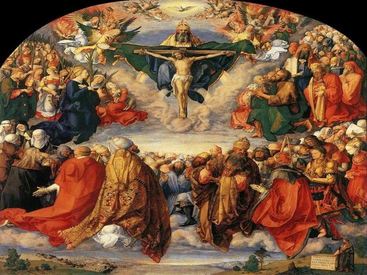 """JEZUS en MARIA Groep.: VADERSCHAP VAN DE EEUWIGE VADER: """"Want de gemeenschap daarboven in de hemel die zonder ophouden God prijst, wacht er slechts op dat wij ons daarin met haar verenigen."""""""