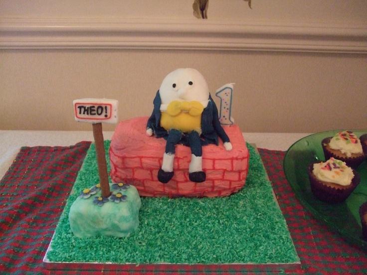 Humpty Dumpty 1st birthday cake for my gorgeous nephew