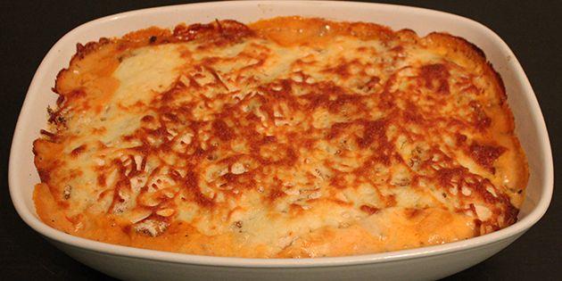 Lasagne med aubergine-plader