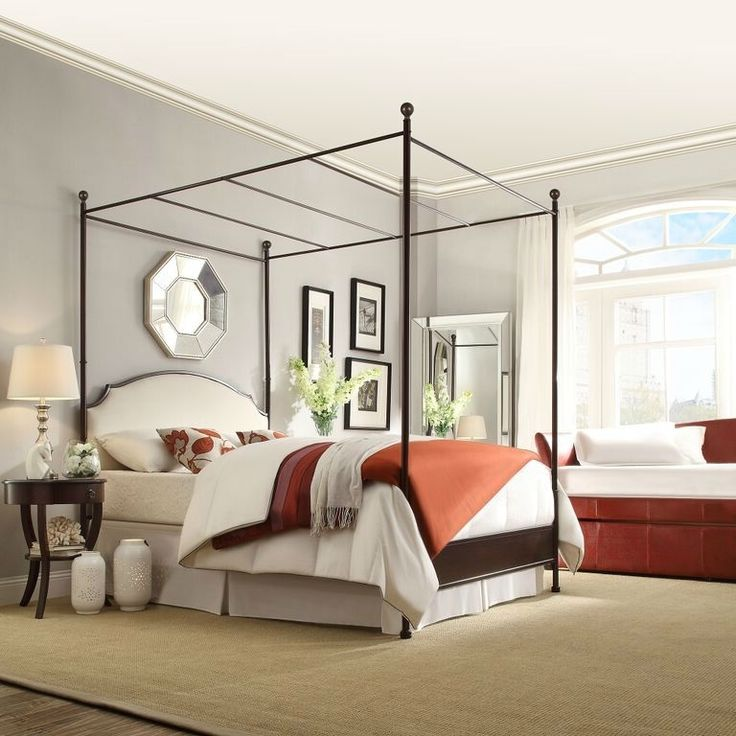 17 best ideas about queen size canopy bed on pinterest full size canopy bed bed canopy lights. Black Bedroom Furniture Sets. Home Design Ideas