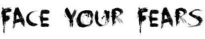 free paint smear font | paint brush Fonts | Download Free Fonts | Free Graffiti Fonts, Free ...
